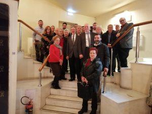 B'nai B'rith organizes visit of Jewish Museum of Greece